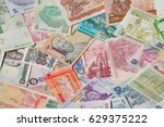 variety of the african banknotes | Shutterstock . vector #629375222