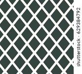 rhombus seamless pattern.... | Shutterstock .eps vector #629384792
