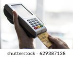 shopping and e payment with... | Shutterstock . vector #629387138