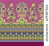 seamless traditional indian... | Shutterstock . vector #629387816