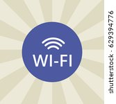 wifi icon. sign design....