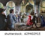 Medieval Masquerade  Dancing ...
