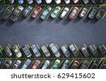 parking lot  3d illustration | Shutterstock . vector #629415602