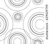 Seamless Monochrome Circles...