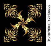 vector brilliant lace  stylized ... | Shutterstock .eps vector #629430302
