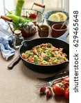 delicious chicken breast  ... | Shutterstock . vector #629465648