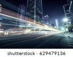 traffic through the modern city | Shutterstock . vector #629479136
