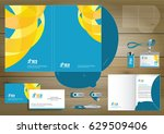 folder template design for... | Shutterstock .eps vector #629509406