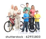gym  fitness  healthy lifestyle.... | Shutterstock . vector #62951803