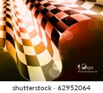 checkered glowing   eps10 | Shutterstock .eps vector #62952064