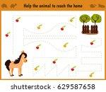 cartoon illustration of... | Shutterstock .eps vector #629587658
