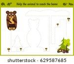 cartoon illustration of... | Shutterstock .eps vector #629587685
