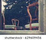 grand stately home living room... | Shutterstock . vector #629609456