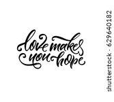 vector illustration.lettering.... | Shutterstock .eps vector #629640182