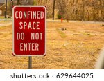 do not enter sign | Shutterstock . vector #629644025