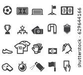soccer icons | Shutterstock .eps vector #629644166