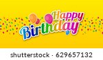 colorful happy birthday with...