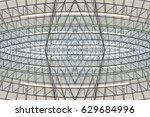 building abstract of roof in a... | Shutterstock . vector #629684996