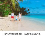 young family with two kids... | Shutterstock . vector #629686646