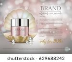 premium vip cosmetic ads ... | Shutterstock .eps vector #629688242