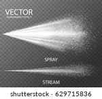 Water Spray White Fog Template...