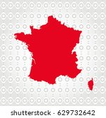 france map in diamond... | Shutterstock .eps vector #629732642