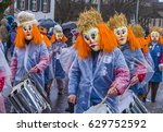 basel   switzerland   march 08  ... | Shutterstock . vector #629752592