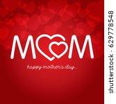 mothers day vector illustration | Shutterstock .eps vector #629778548