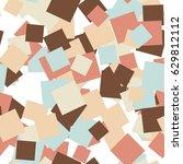 abstract seamless pattern art... | Shutterstock . vector #629812112