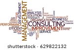 word cloud management consulting | Shutterstock . vector #629822132