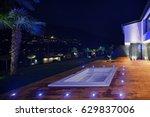 exteriors of modern luxury...   Shutterstock . vector #629837006