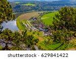 bridge in germany  saxon...   Shutterstock . vector #629841422