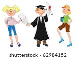 funny people | Shutterstock .eps vector #62984152