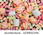 Marshmallows Background Or...