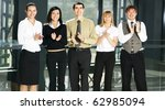 portrait of business people in... | Shutterstock . vector #62985094