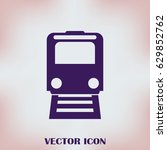 train icon vector  modern...