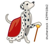 royal dalmatian vector...   Shutterstock .eps vector #629941862