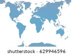 earth map | Shutterstock . vector #629946596