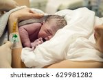 Newborn Baby Boy After Birth I...