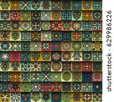 colorful vintage seamless...   Shutterstock .eps vector #629986226