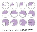 vector illustration. violet... | Shutterstock .eps vector #630019076