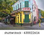 buenos aires april 08  colorful ... | Shutterstock . vector #630022616
