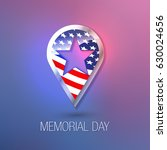 memorial day. happy memorial... | Shutterstock .eps vector #630024656