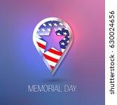 memorial day. happy memorial... | Shutterstock .eps vector #630024656