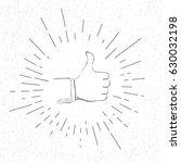 symbol of like     social... | Shutterstock .eps vector #630032198