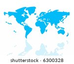 earth | Shutterstock . vector #6300328