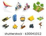 Isometric Hang Glider  Bikers...