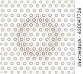 hexagonal seamless vector... | Shutterstock .eps vector #630047726