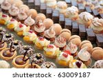 Diversity Of Pastry Decorated...