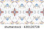 mosaic colorful horizontal... | Shutterstock . vector #630120728